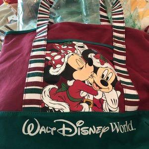 Disney Parks Walt Disney World Christmas Tote Bag